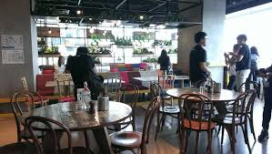 Google office cafeteria Sydney Students Have Look At Gerai Gugel Creative Cafeteria Where Google Staffs Have Their Daily Meals Kdu University Kdu University College Kdu Students Had An Eyeopening Visit To Google Malaysia Office