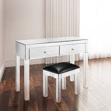 Mirrored Cabinets Living Room Foxhunter Mirrored Furniture Glass 4 Drawer Chest Cabinet Table