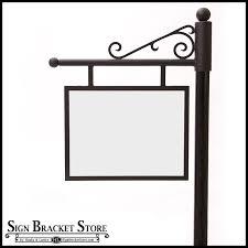 Decorative Sign Posts Custom Sign Posts Sign Frames Gallery 98
