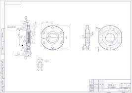 Курсовая работа по технологии машиностроения курсовое  Курсовой проект ОТМ Изготовление детали Крышка