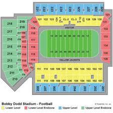 Bobby Dodd Stadium Seating Chart Bobby Dodd Stadium