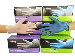 Hagens Vinyl Glove Powder Free