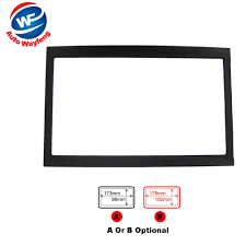 <b>Double Din Car</b> DVD Frame Fit For Peugeot 307 Stereo Radio Dash ...