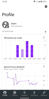 Weightlifting Pr Chart The Best Weightlifting Apps For Android And Ios Digital Trends