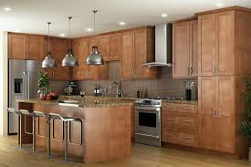 Kitchen cabinets wood Walnut Pecan2520shaker Pecan2520shaker Pecan252520shaker The Home Depot Canada Pecan Shaker Ready To Assemble Kitchen Cabinets Kitchen Cabinets