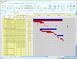 Gantt Chart Template Word Doc 10 Free Download Gantt Chart