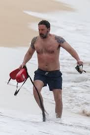 Ben Affleck Shows Off Massive Back Tattoo He Said Was Fake