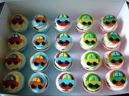 Car Cupcakes Food Cupcakes For Boys Birthday Cupcakes Car