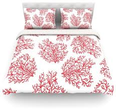 anchobee c red white duvet cover cotton queen contemporary duvet