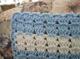 Baby Afghan Patterns Beauteous Bluebell Baby Afghan FaveCrafts