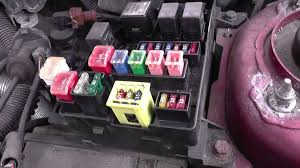 volvo s fuse relay box location video