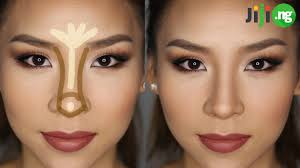 how to make your nose look smaller with makeup jiji ng