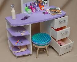 american girl salon set stool pleasant co accessories retired doll furniture