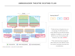 Az Broadway Theater Seating Chart 63 Extraordinary Seating Chart For Lunt Fontanne Theatre