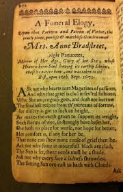 anne bradstreet essay anne bradstreet essay anne bradstreet the flesh and the spirit the interlopers essay essay on the