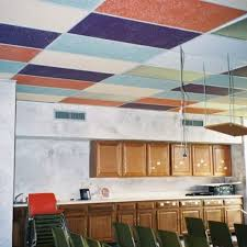 how to makeover drop ceiling tiles