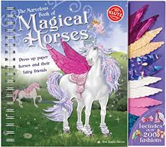 Klutz The Marvelous Book of Magical Horses: Dress ... - Amazon.com