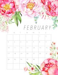 free printable 2019 monthly calendar free printable 2019 floral calendar the cottage market