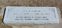 Iva Blair Fowler (1899-1977) - Find A Grave Memorial