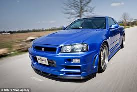 nissan skyline fast and furious 6. one of a kind although the racy blue motor is nine skylines used nissan skyline fast and furious 6