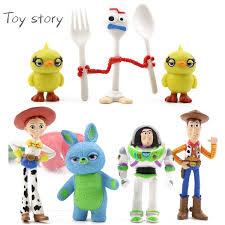 <b>7PCS Set Disney</b> Movie <b>Toy Story</b> 4 Woody Lightyear Rex Alien ...