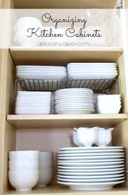 Kitchen Cupboard Organizing Organized Home Week 2 Kitchen Cabinets And Drawers Graceful Order
