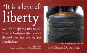 Liberty Quotes Cool Love Of Liberty Joseph Smith Quotes