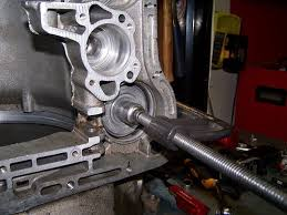 the torqueflite a 727 transmission binderplanet a large c clamp is helpful to remove the servo pistons