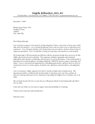 Nursing Cover Letter Samples Best Registered Nurse Cover Letter