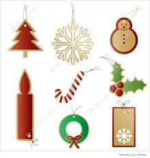 templates christmas gift present tags stock illustration christmas gift present tags