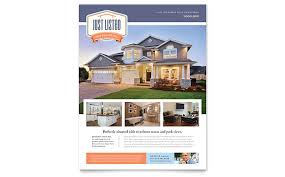 property pamphlet new property flyer template design