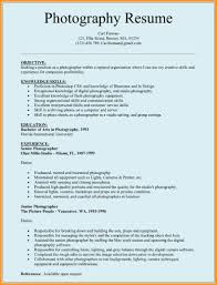 Photographer Resume Grapher Resume Template For Microsoft Word C