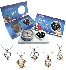 love pearl freshwater pearl gift set included pearl in oyster copper or sterling silver pendant rings earrings 18 chain opener and instruction