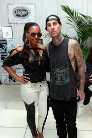 Ashanti and #TravisBarker of #Blink182 - 2013 #GRAMMY Celebrity ...