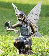 large garden fairy statues 12 best unique cast bronze and aluminum human figures images on