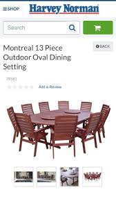 outdoor dining table n chairs dining tables gumtree australia playford area elizabeth downs 1193881489
