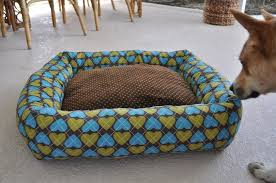 Dog Bed Patterns Gorgeous DIY Dog Bed Project How To Make A Homemade Dog Bed