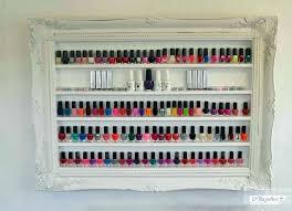 nail polish wall rack acrylic nail polish wall racks nail polish wall rack white make up
