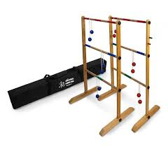 Wooden Ladder Ball Game Unique YardGames Wood Ladder Toss Game Set