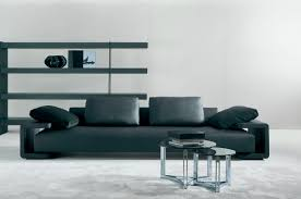 Elegant And Modern Leather Sofa Luxurious Furniture Ideas