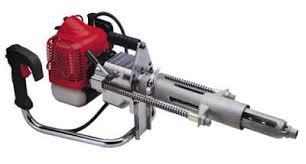 hand drilling machine. hand held sleeper drilling machine