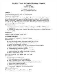 Certified Public A Href Http Cv Tcdhalls Com Accountant Resume