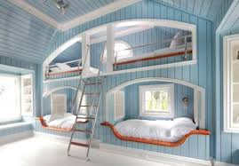 View in gallery Beautiful bunk beds inspired by the coastal theme