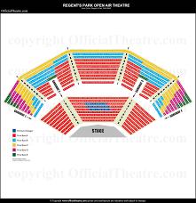 regents park open air theatre seat s general