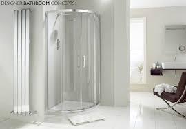 aquaglass designer 2 door 8mm quadrant shower enclosure main image