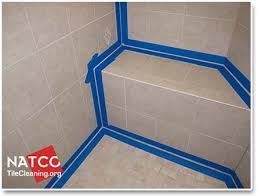taping off the shower prior to caulking it is the key to getting straight looking caulk lines taping off a shower prior to caulking may seem like a lot of
