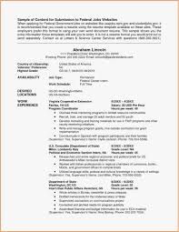 Usa Jobs Resume Tips Best Of 21 Federal Resume Format Professional