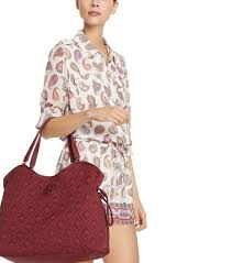 Lyst - Tory burch Marion Quilted Slouchy Baby Bag in Purple & Gallery Adamdwight.com