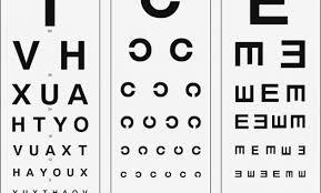 Emi Snellen Pocket Eye Chart Ec Hand Picked Snellen Eye