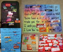 creative birthday ideas for best friend candy bar sayings collage